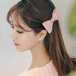 淑女甜美纯银韩国耳钉