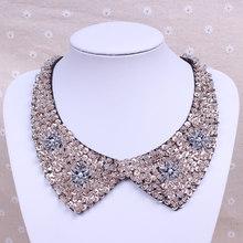 韩国复古珍珠假领子可爱衣领项链蕾丝钉珠服饰配件锁骨短款女
