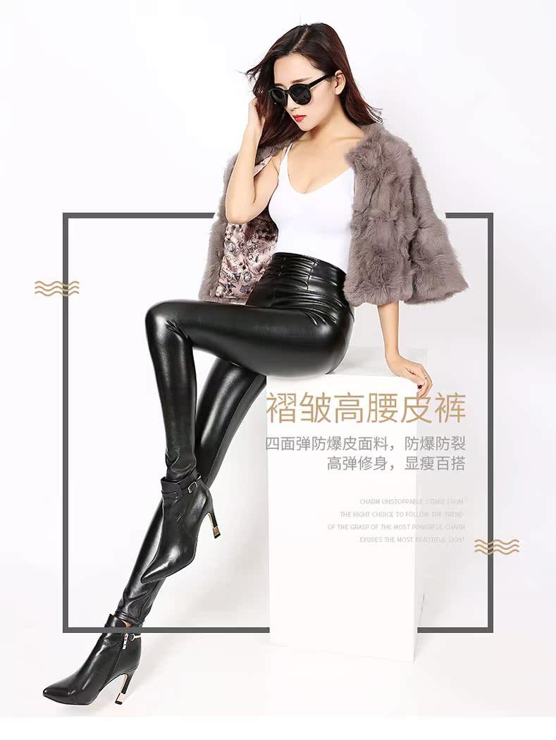 修身冬季女装大码安全裤走光长裤打底裤新款韩版外穿加厚高腰弹力