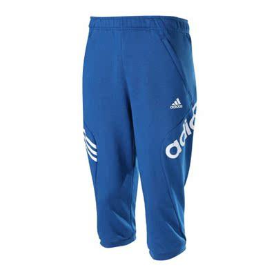 Adidas/阿迪达斯 2016新款男子针织运动休闲中长裤七分裤 AP6466