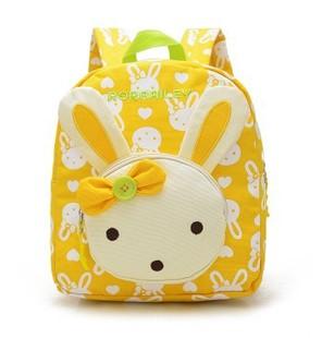 儿童书包卡通幼儿园2-3-4岁可爱男女孩韩版时尚背包双肩包帆布包