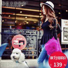 V领毛衣女粉红大布娃娃秋冬新款韩版气质修身套头针织打底上衣图片