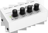 音频混合器 4路调音台 4路迷你型混音器 混音 小型调音台 MX400