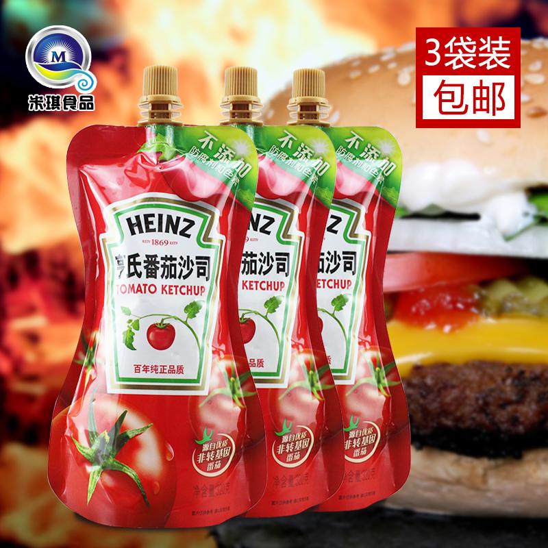 亨氏番茄酱320g*3 KFC番茄沙司番茄酱沙司披萨汉堡薯条酱西红柿酱