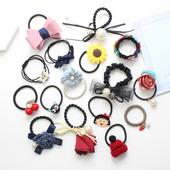 韩国发圈头饰发饰发夹橡皮筋简约百搭成人扎头发饰品发箍发绳头绳