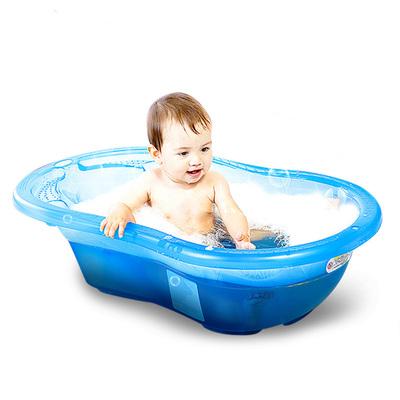【天猫超市】世纪宝贝艾格婴儿新生儿童浴盆宝宝洗澡盆大号加厚
