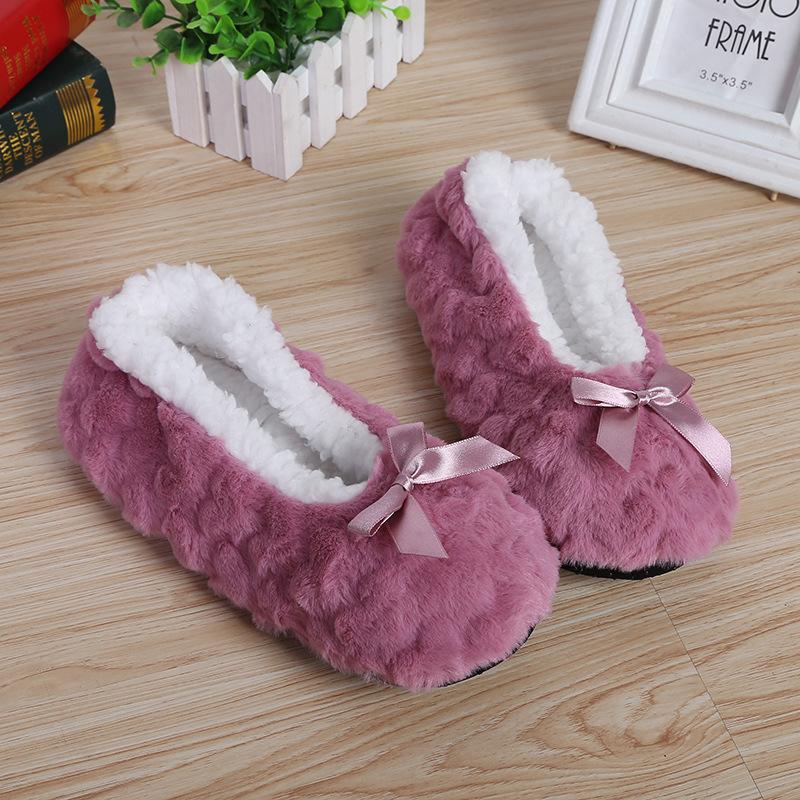秋冬成人女士地板袜防滑加厚绒室内保暖瑜伽地毯袜早教月子鞋袜套