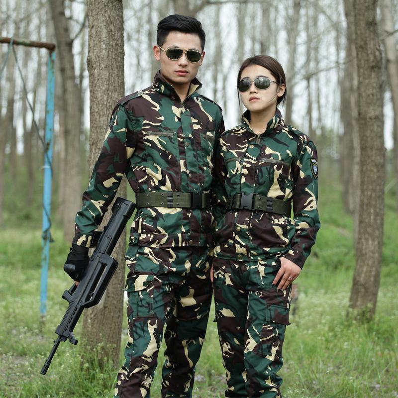 新款特种兵户外军迷迷彩服套装 野战作战四季通用作训服耐磨 男