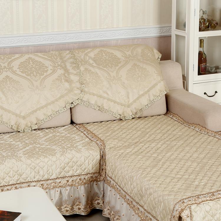 夏季花格凉垫沙发垫夏天凉席简约现代冰丝防滑坐垫防滑沙发巾套罩