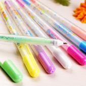 【DIY相册工具】彩虹水粉笔 粉彩笔  一套7色入