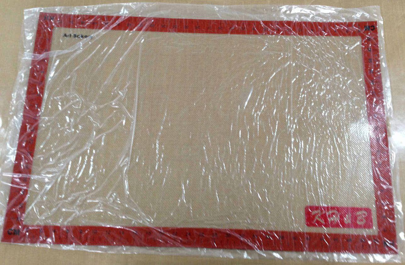 35*55玻璃纤维增强硅胶垫 超大硅胶案板 揉面垫 杆面垫