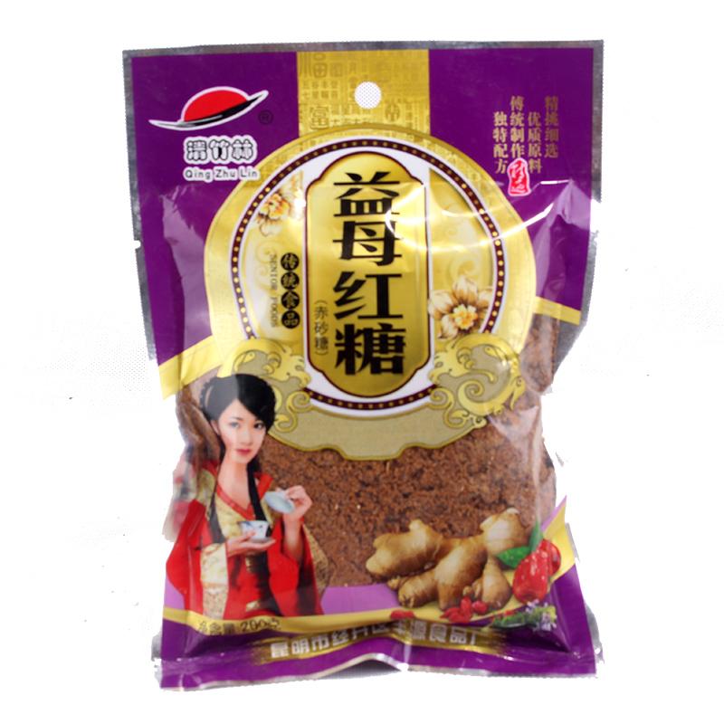 传统食品 云南红糖益母红糖200克