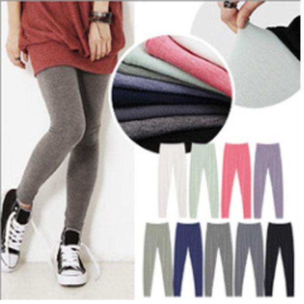 新款铅笔裤 高腰 时尚韩版 修身显瘦打底裤弹力小脚