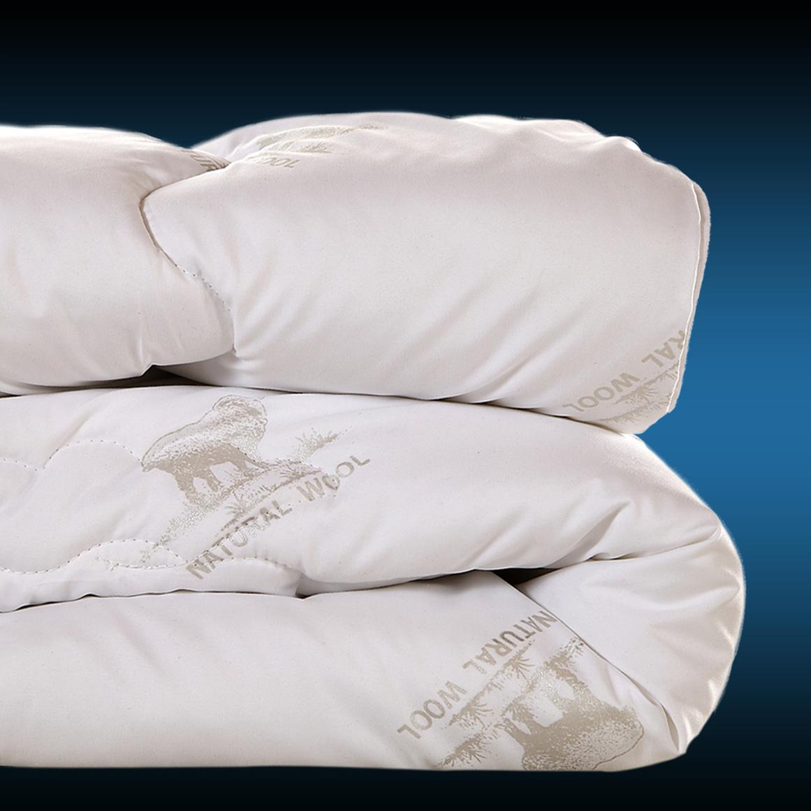 尊贵羊毛冬被冬被芯单人双人加厚被芯专柜正品特价厚羊毛被保暖