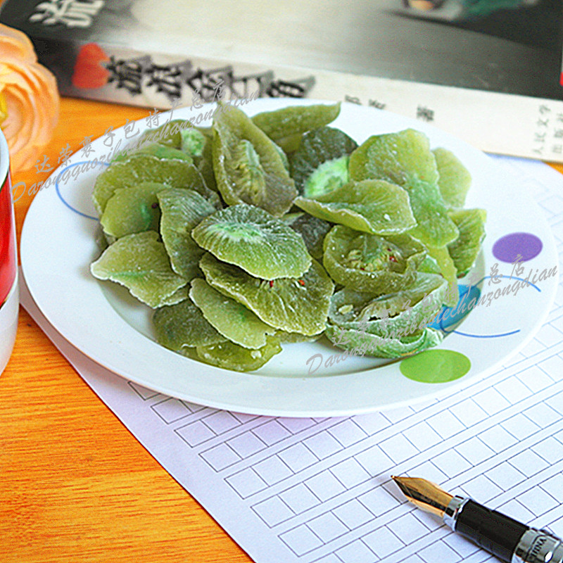 黄山野生特产猕猴桃干片 奇异果脯干水果蜜饯干 酸甜休闲小吃零食