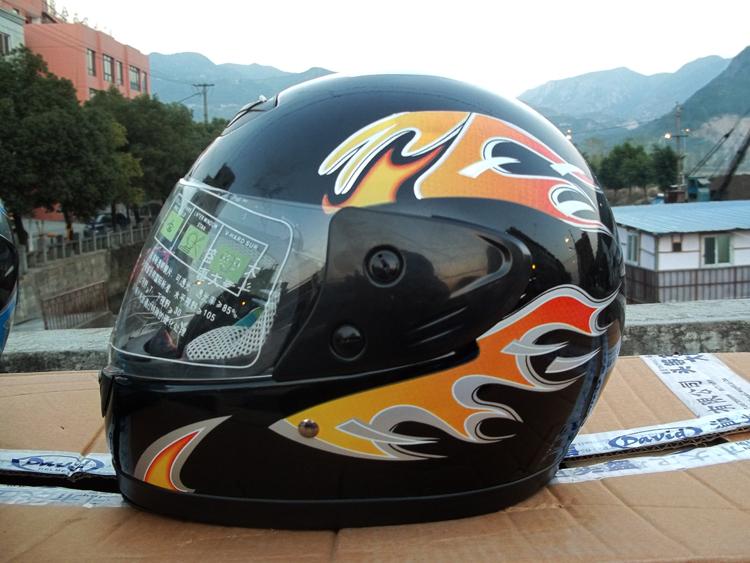 皇家大卫摩托车头盔冬盔全盔送围脖 特价促销双十二透气全盔