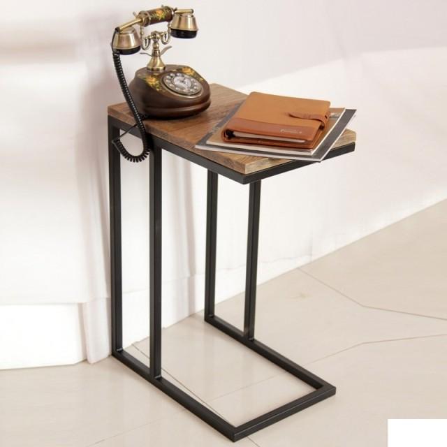 铁艺茶几边桌电话桌沙发边几转角几实木电脑桌咖啡桌床边桌写字台
