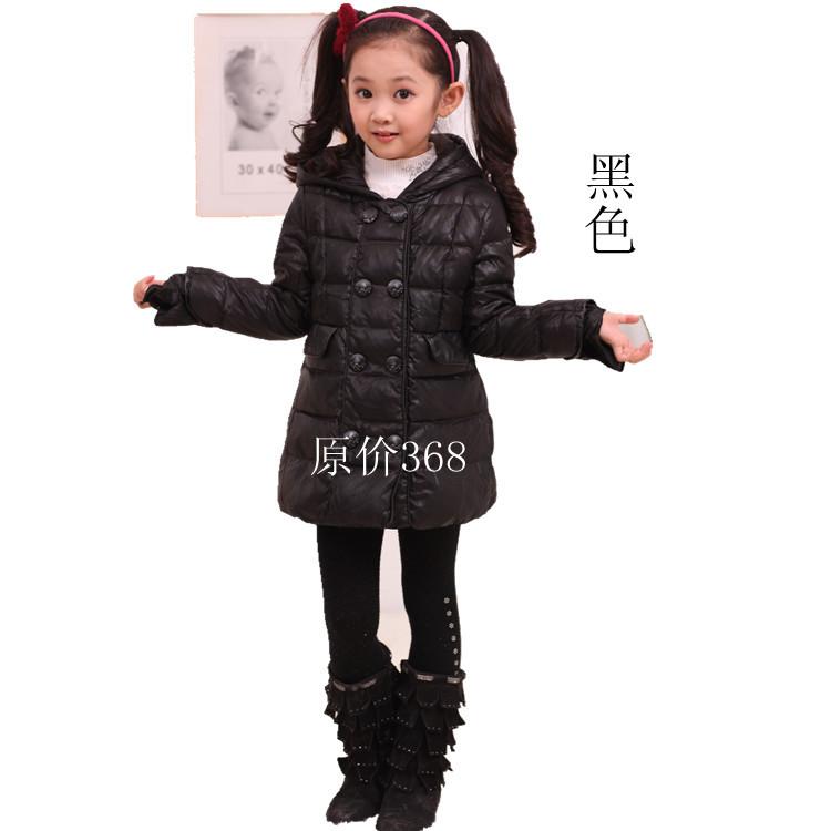 新品杰米妙妙屋童装正品儿童羽绒服女童短款公主韩版羽绒服特价