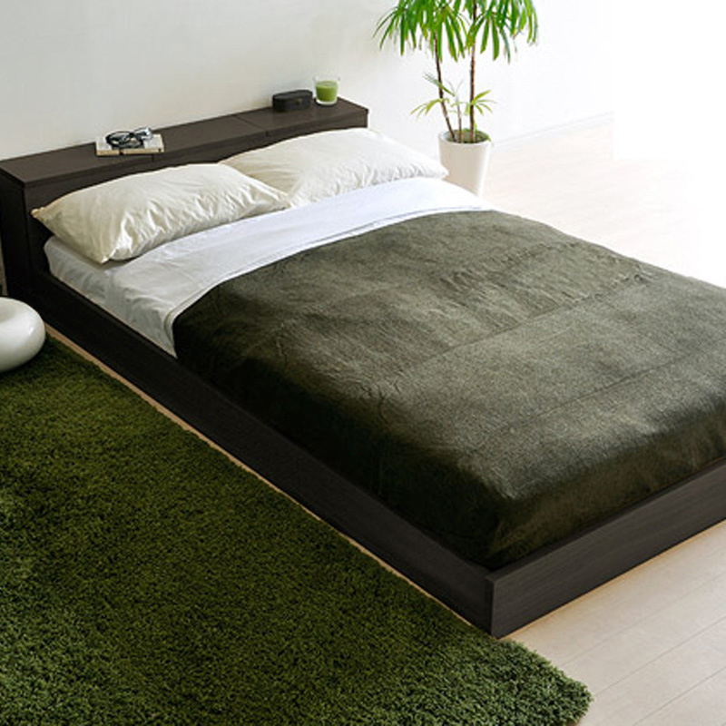 储物淘男孩简约现代宜家时尚简易板式床垫子双单人床架住宅家具