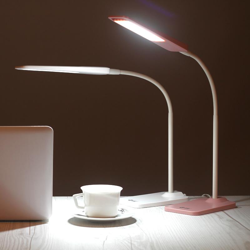 学习台灯LED移动护眼台灯 学生灯 护眼暖光灯应急照明灯两用