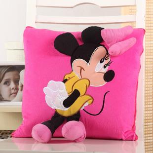 多用抱枕被靠垫被 抱枕被子午休被枕头 可爱卡通抱枕被子两用