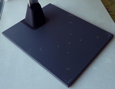 好易高拍仪专用文稿台 全金属硬质文稿台 A4大小 扫描仪定位台