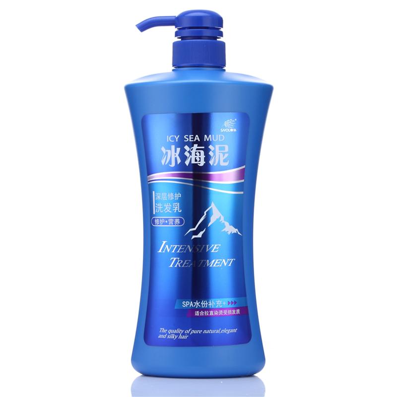 章华冰海泥洗发水洗发膏深层修护染烫受损发质洗发乳 洗发露正品