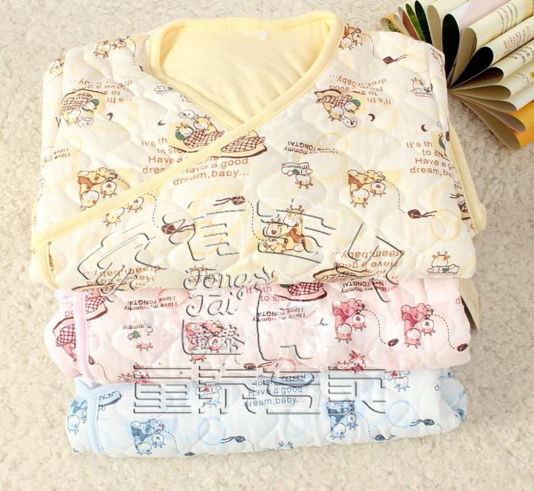 童泰新生儿宝宝睡袋睡袍睡衣2121春秋防踢被婴儿两用薄棉睡袋