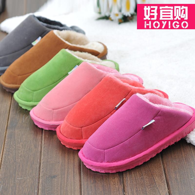 棉拖鞋特价冬季防滑厚底毛拖鞋女男士情侣家居拖鞋冬天加厚保暖鞋