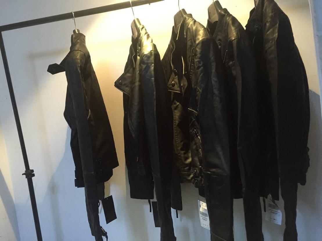 皮夹克修身立领短款机车 水洗外套皮衣 春装皮衣