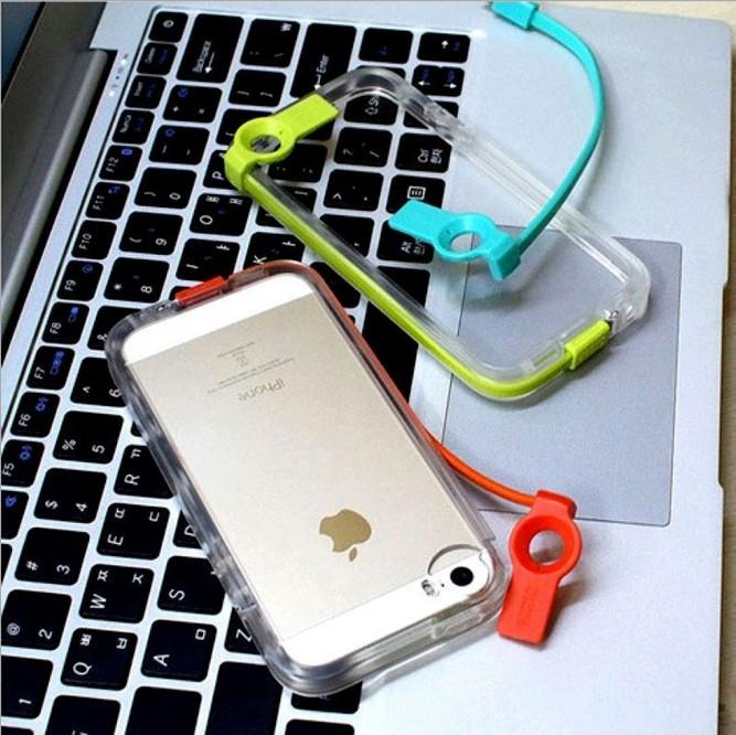韩国新款苹果5s 发光充电带数据线苹果iphone5/5s手机壳保护套潮
