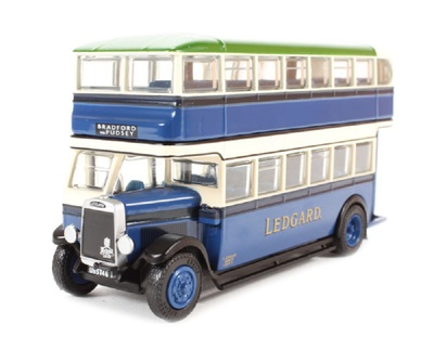1/76 EFE 27309巴士模型Leyland Titan TD1 1930 Samuel Ledgard