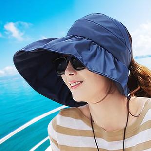 防紫外线大沿沙滩太阳帽