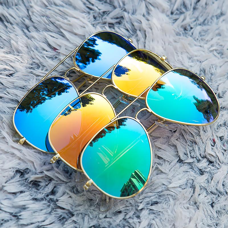 美国进口偏光太阳镜男女经典款时尚复古飞行蛤蟆镜