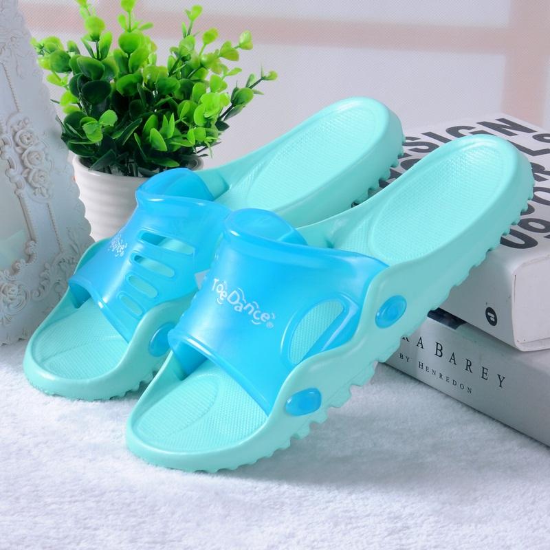 满98减价 足间舞正品女夏季凉拖鞋室内居家地板浴室防滑拖鞋2148
