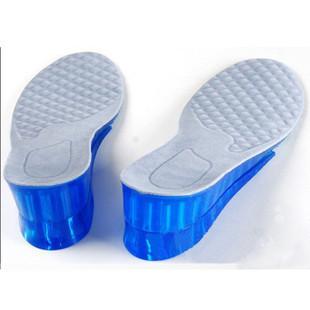 进口硅胶增高鞋垫 蜂窝隐形内增高垫 植绒面 组合可裁剪 4.5厘米