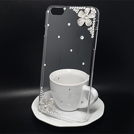 苹果6plus iphone6 Plus 5.5寸手机壳外壳水钻壳保护壳钻花包邮