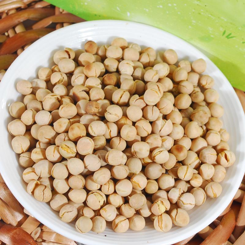 湖南特产 水井巷炒货川豆 铁锅 炒豌豆 原味 零食 香脆可口莫盐子