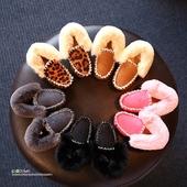 2016冬新款韩版儿童棉鞋宝宝鞋加绒保暖豆豆鞋女童鞋公主鞋雪地靴