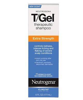美国Neutrogena露得清T-gel洗发水177ml加强版1%煤焦油