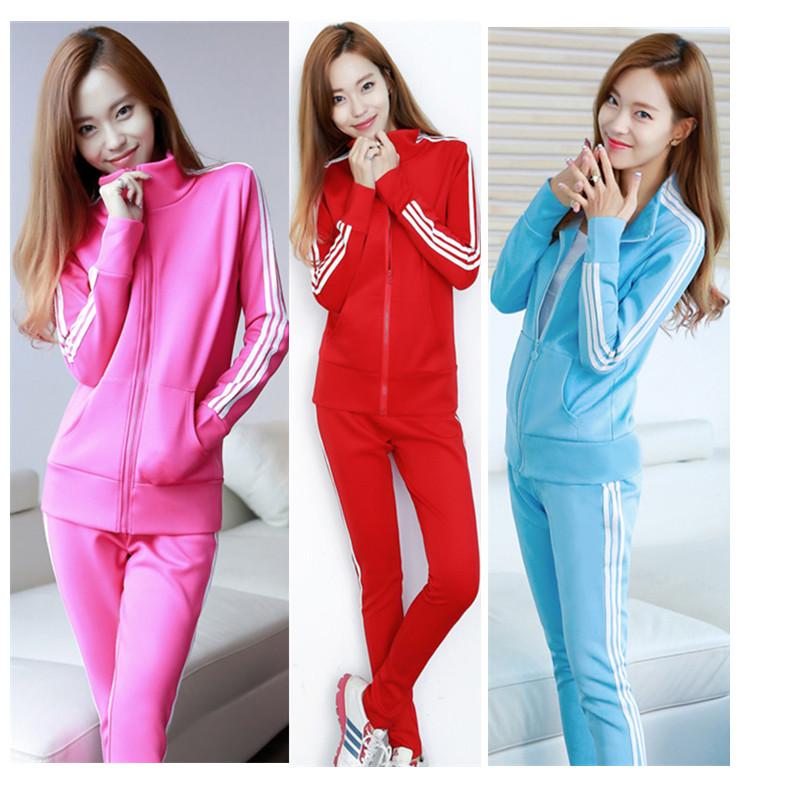 休闲运动套装 休闲套装 女士运动套装 休闲套装女 韩版 时尚套装