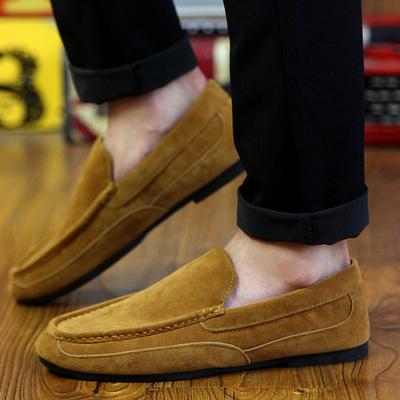 [新品促销] 韩版男女豆豆鞋棉鞋低帮鞋休闲鞋懒人鞋乐福鞋加绒保暖情侣鞋潮鞋