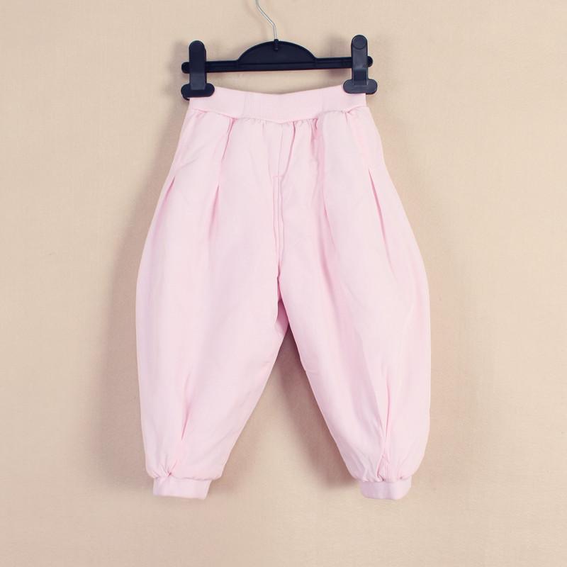 婴唯儿 专柜正品 纯棉加厚 夹棉锥形 时尚冬款童裤