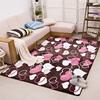 骊华家居旗舰店加厚客厅地毯茶几沙发卧室床边地毯珊瑚绒防滑地毯可满铺