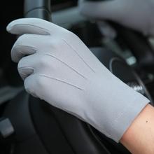 透气防滑户外骑行驾驶开车全指手套 薄款 夏季防晒手套男士 warmen