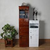 典峰家具木质斗柜办公实木储物柜书房书柜家用文件柜带锁资料柜
