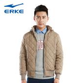 冬季保暖运动棉服 休闲运动外套棉夹克上衣男子 鸿星尔克男棉衣服