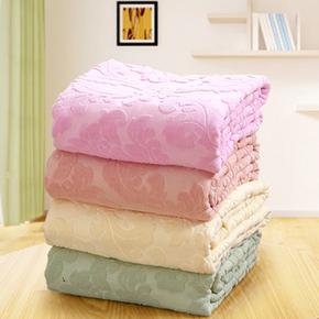 毛巾被纯棉单人双人全棉毛巾毯加厚空调被午睡毯毛毯子夏凉被床单