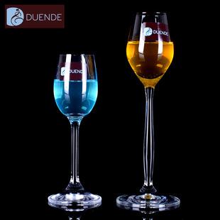 捷克进口 DUENDE高档无铅水晶白酒杯 烈酒杯一口酒杯利口杯 60ML