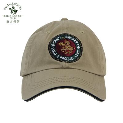 POLO圣大保罗 polo纯棉透气帽子 休闲鸭舌帽 太阳帽 PW12AD007